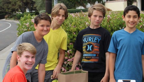 7th graders raise $800 for leukemia society