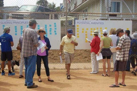 Residents share ideas for Shores development