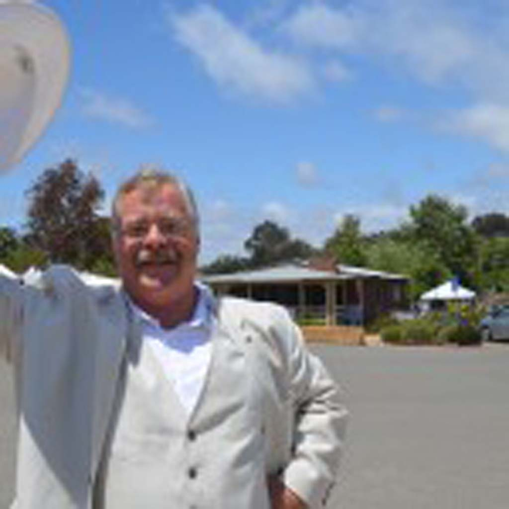 Joe Wiegand portrays Theodore Roosevelt at the San Dieguito Heritage Museum on Saturday. Photo by Tony Cagala