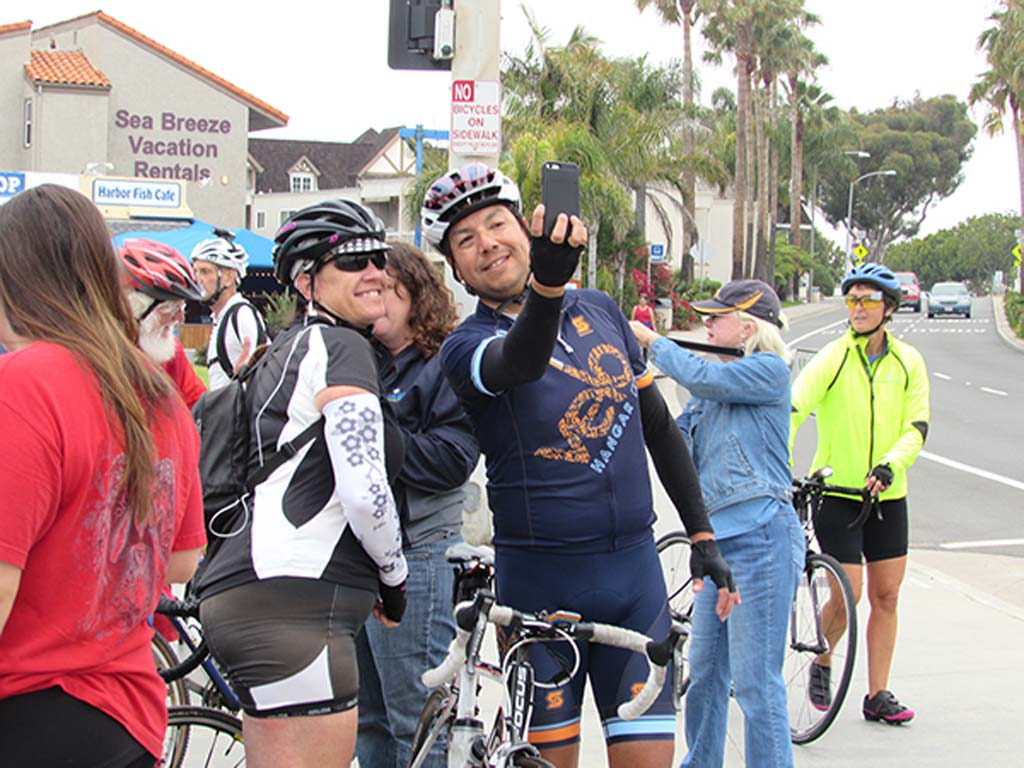 Hundreds of North County cyclists bike to work