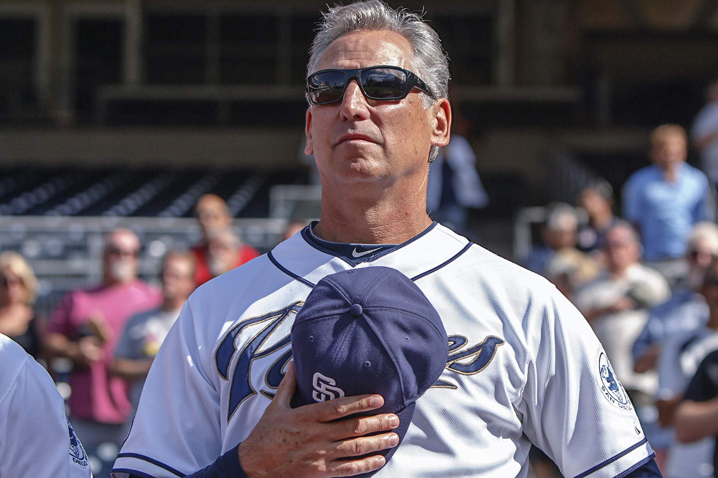 The San Diego Padres cut ties on Monday with manager Bud Black. File photo by Bill Reilly