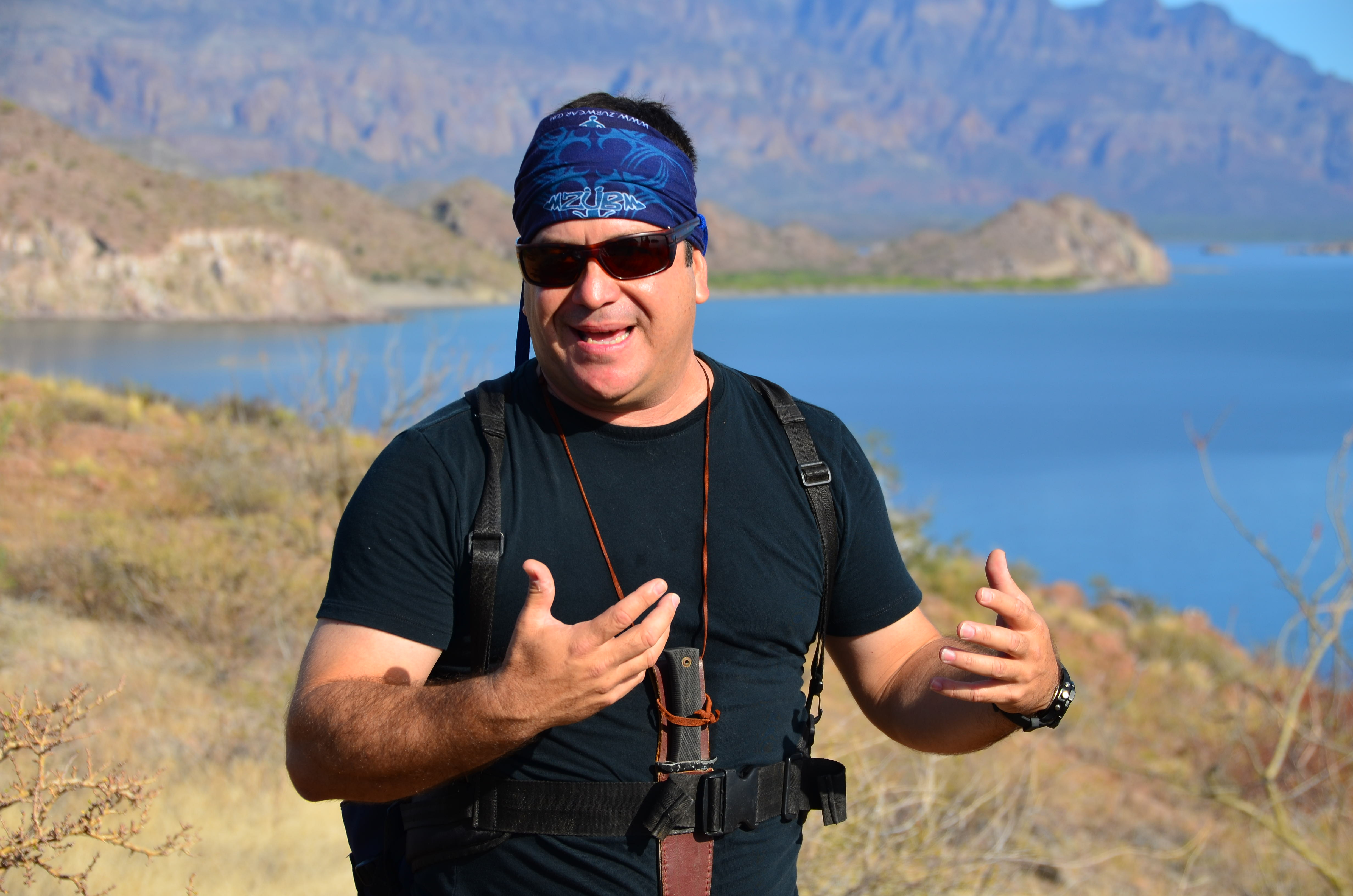 Carlos Velasco, the hotel's tour director and a native of Loreto, provides narration on Baja's geologic, biologic and human history during daily hikes. He designed and helped build the well marked trails about four years ago when the hotel opened.