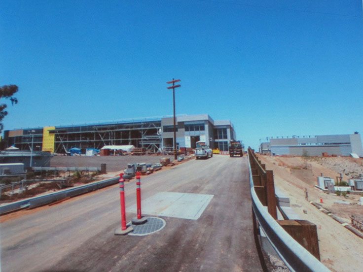 Desalination Plant is almost finished