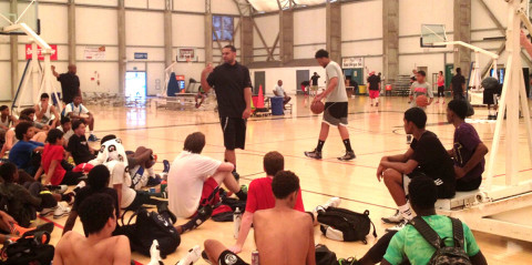 Dudley, Parker leave campers with positive message