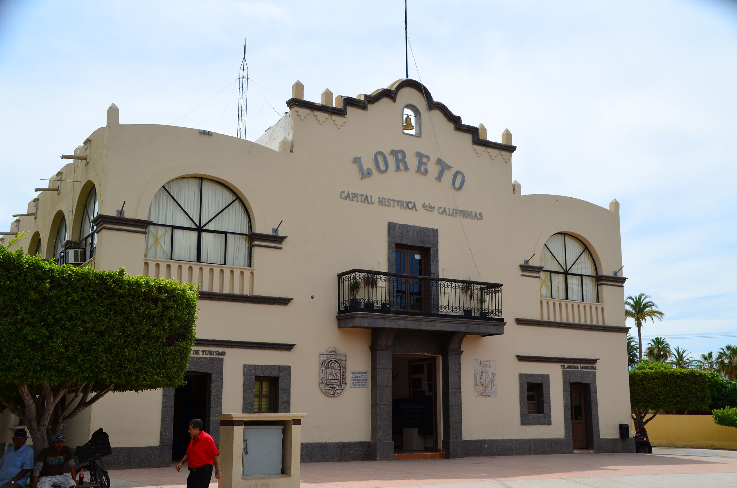 The town of Loreto was the capital of Alta and Baja California for 80 years. This is the original capital building. Photo by Jerry Ondash