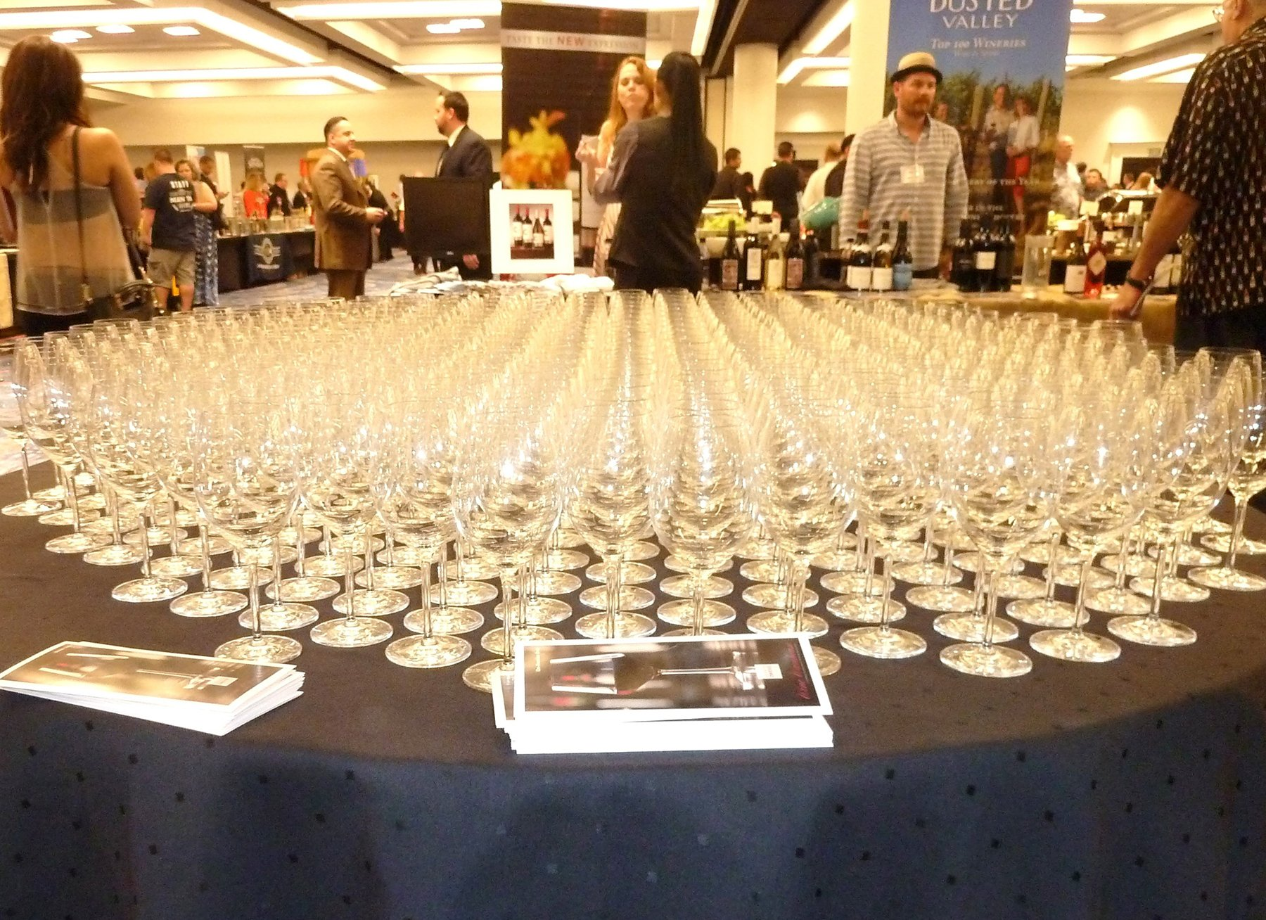 Blue Sky Tasting at the  Wine Warehouse Trade Show