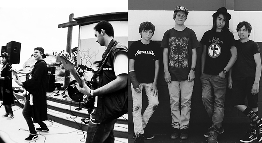 The Breaks and Triceratropical will perform this weekend at Summer Fun on the 101. Photos by David Boylan