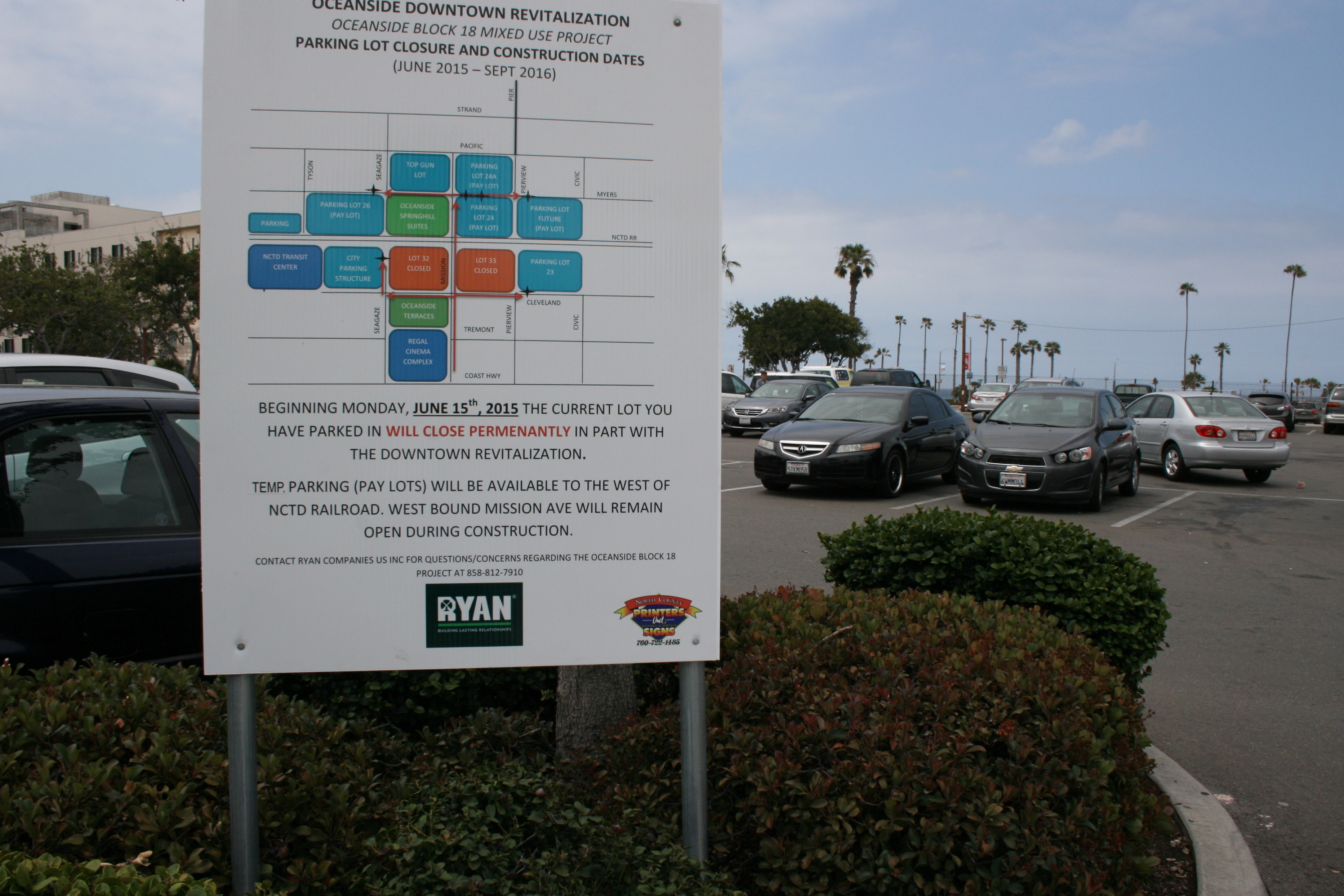 Oceanside reduces free downtown beach parking