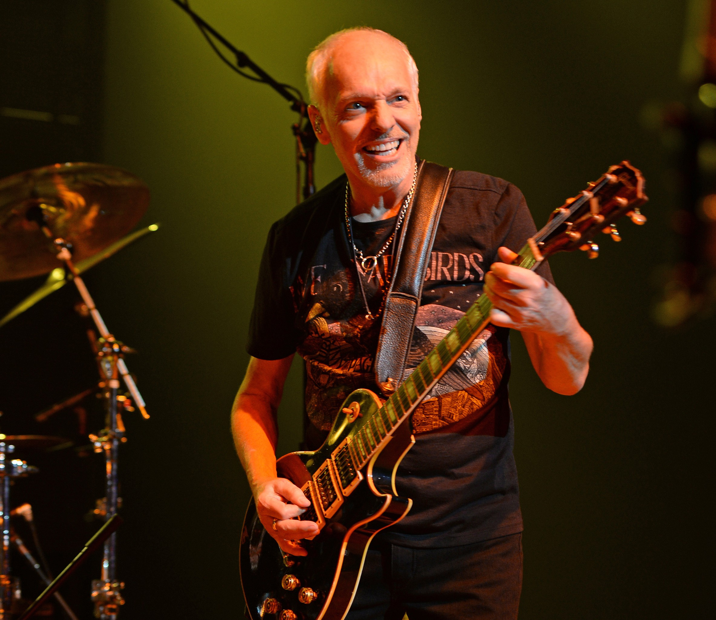 Peter Frampton performs on the Grandstand stage at the San Diego County Fair June 10. Photo by Larry Marano, Getty Images