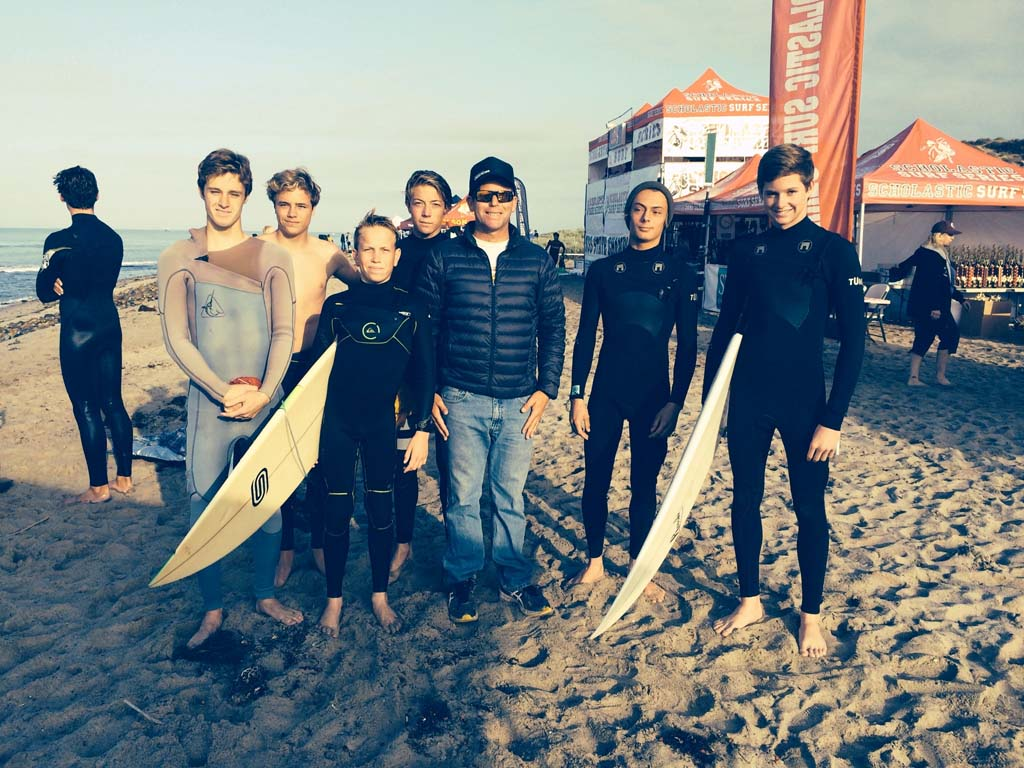 CCA surf team places first in state championships