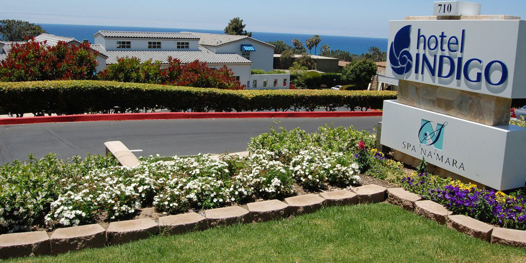 Hotel Indigo, on the south end of Del Mar, benefits from the city's Tourism Business Improvement District, which charge guests an additional 1 percent to raise money for marketing. The district is currently up for renewal. Photo by Bianca Kaplanek