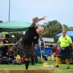 The Highland Games are a draw for crowds. Photo by Tony Cagala