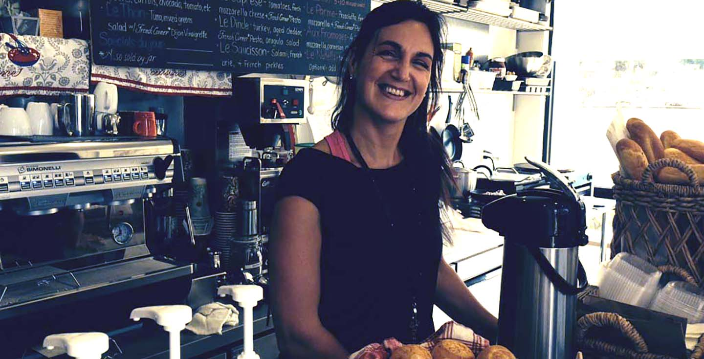 Alexandra Palombi-Long got her start at the Leucadia Famers Market. Now she has her own brick-and-mortar French bakery. File photo by David Boylan