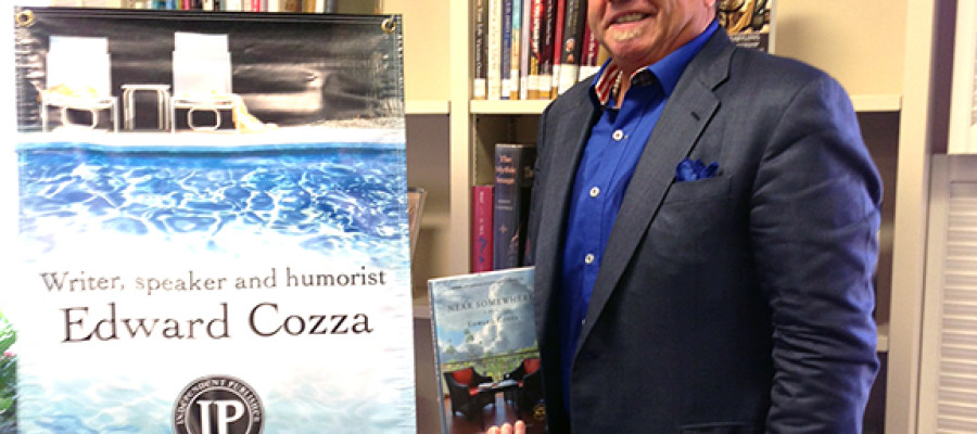 Local author influenced by libraries