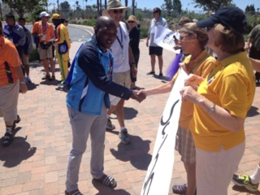 Special Olympics athletes get star treatment in Encinitas