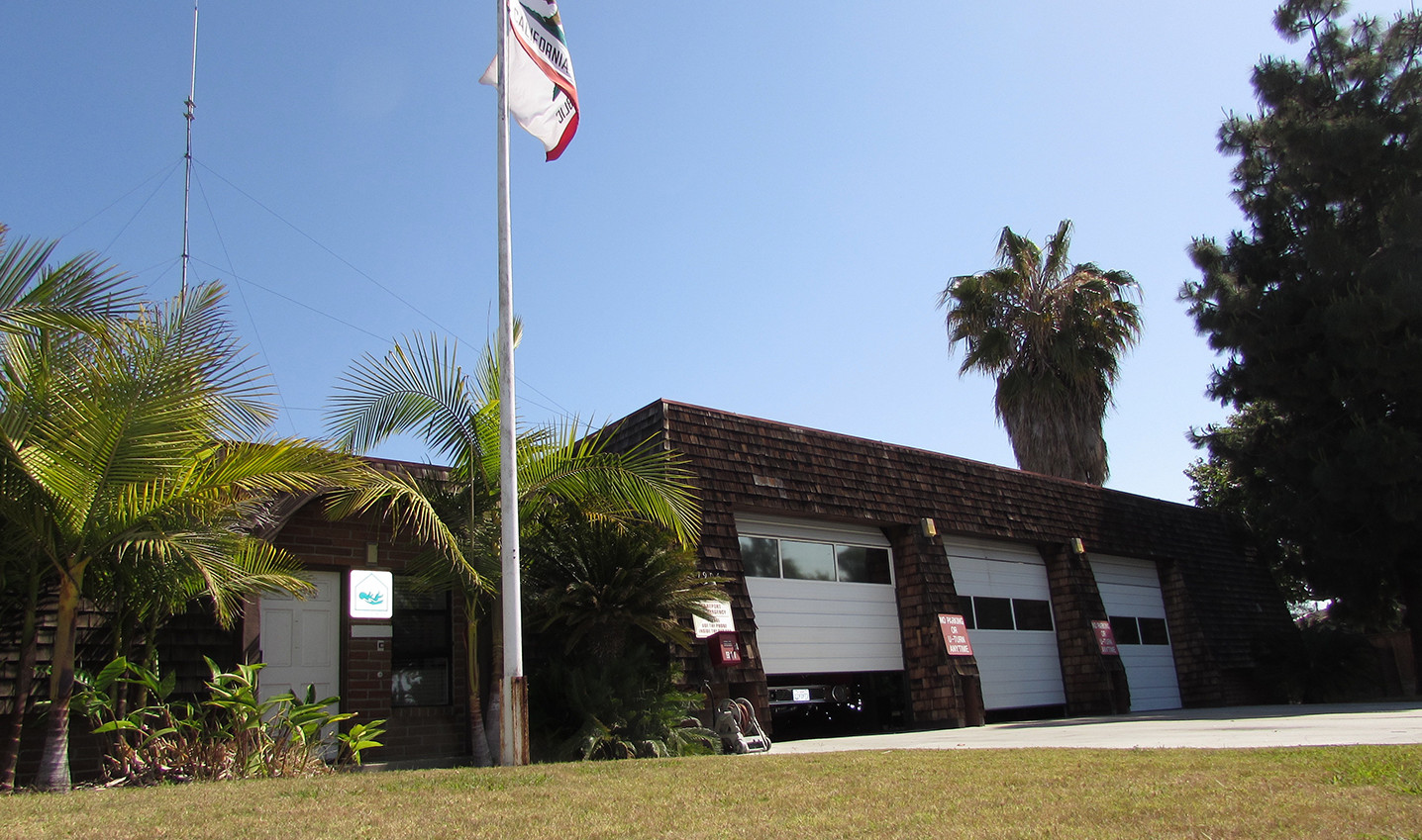 Fire Station Number 2, next to the Omni La Costa Resort and Spa, is long overdue for renovations. On Tuesday, the City Council voted to spend about $342,000 to update the station. Photo by Ellen Wright