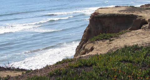 Two girls pushed off cliff in Carlsbad