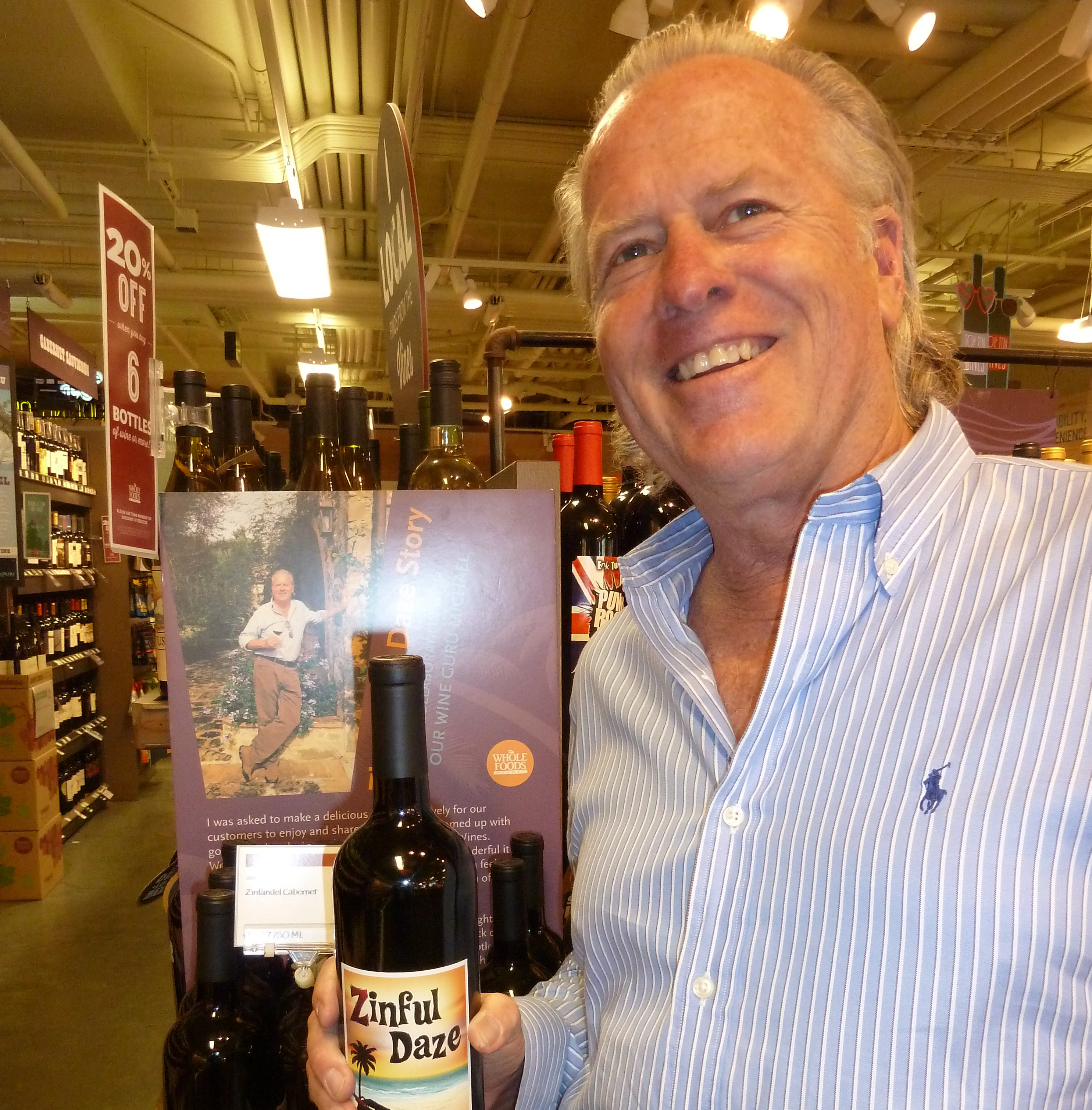 Taste of Wine: Wine guru discovered at Whole Foods