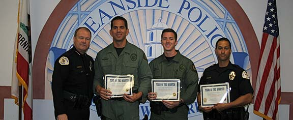 OPD recognizes its own with quarterly awards