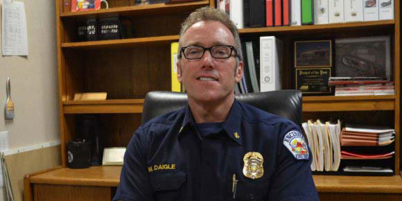 """It is nothing you can do overnight, you just can't change your name,"" says Mike Daigle, Encinitas fire and marine safety chief, over a moniker change between the Encinitas, Del Mar and Solana Beach fire departments. File photo"