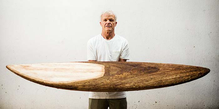 Oceanside shaper makes entire surfboard from agave