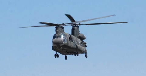 Army copter flies too close for comfort