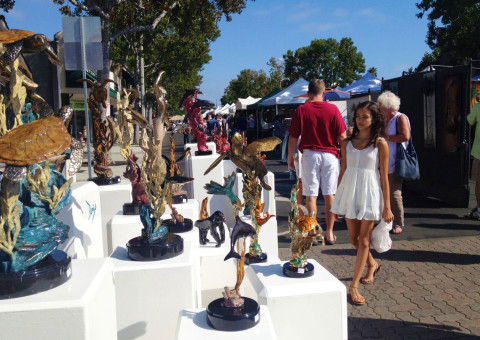 Art takes over the Village on Sunday