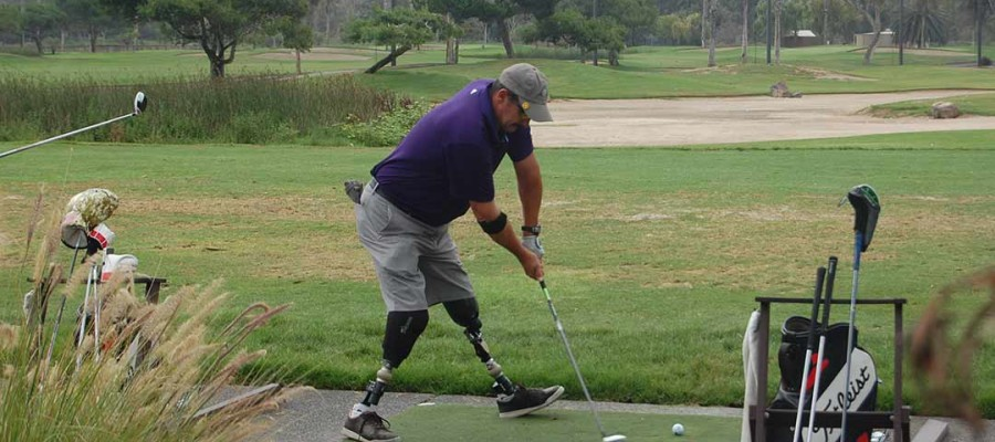 Golfers take to the greens to benefit combat-injured troops