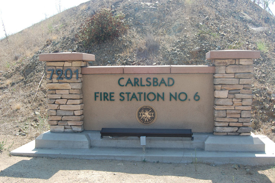 The founder of the Carlsbad Fire Department Foundation is trying to get the word out about his organization, which he created to enhance fire and rescue services, support safety education and provide scholarships to the children of Carlsbad firefighters and paramedics. Photo by Bianca Kaplanek