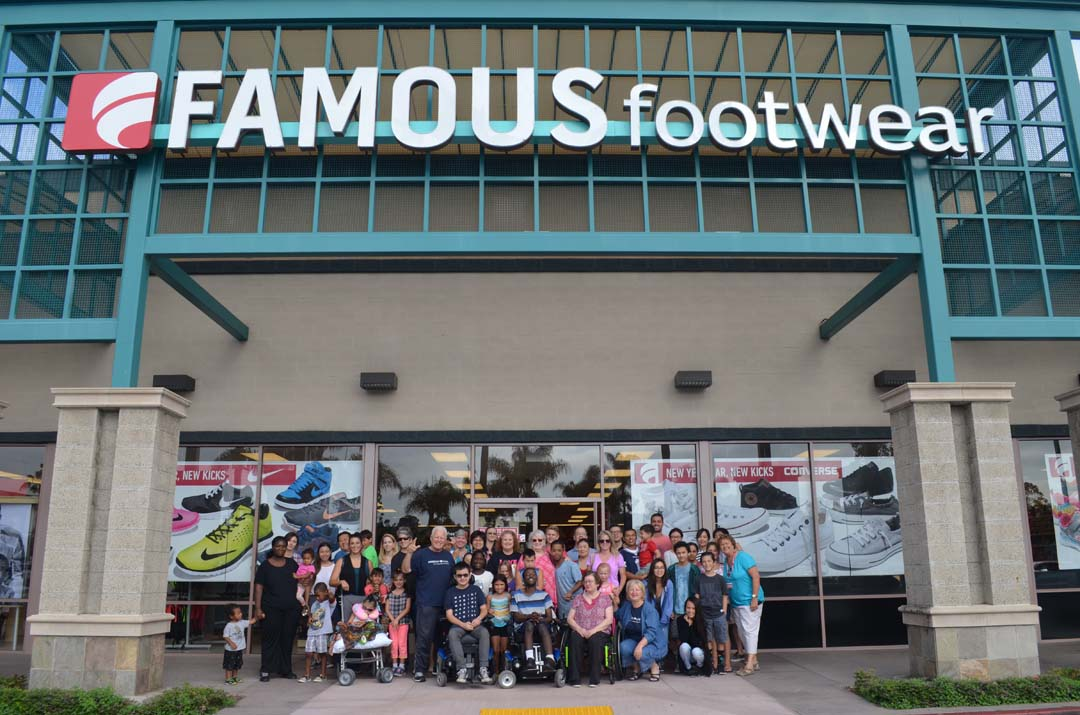 The Encinitas-based nonprofit Passion 4 K.I.D.S. hosts a back-to-school shopping spree for special needs kids on Saturday at the Encinitas Famous Footwear. Photo by Tony Cagala