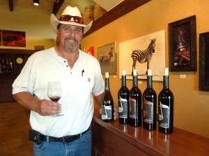One of the Temecula Valley's foremost farmer-winemakers is now hands-on making superb wines at Lorimar Vineyards and Winery in the Temecula Valley. Photo by Frank Mangio