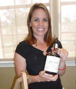 The Jug wine format returns, as displayed by Caitlin Pianetta of Pianetta Winery in Paso Robles. Photo by Frank Mangio