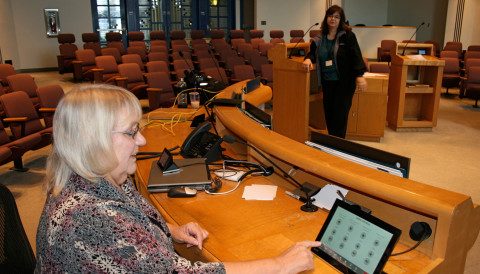 Chamber's voting, sound systems get upgrades