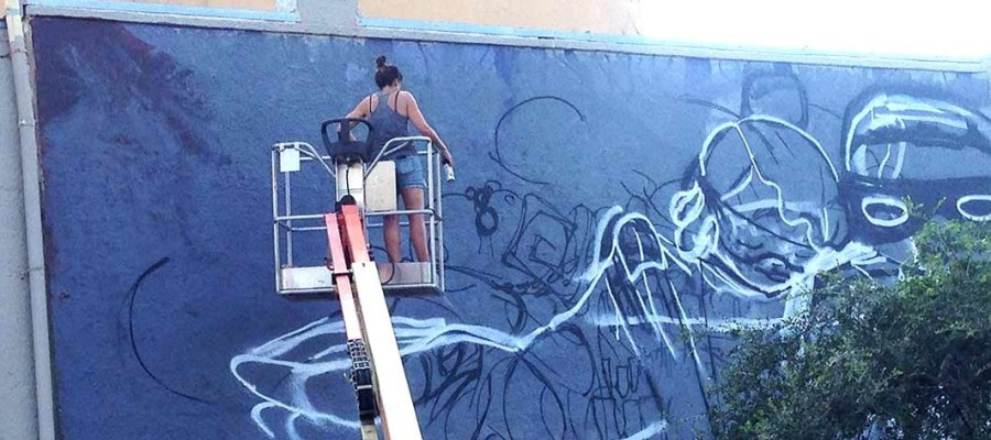 Mural to be installed during Art Walk