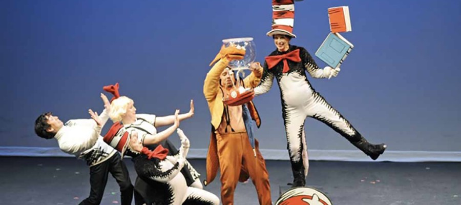 Cat in the Hat comes to Escondido
