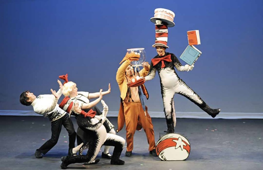 The Cat in the Hat comes to the California Center for the Arts Sept. 27 for a fun-filled children's performance. Courtesy photo