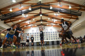 Several of North County's brightest basketball talents showcase their skills on the court. Photo by Tony Cagala