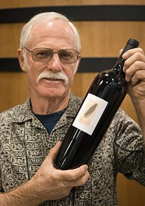 Pala's Oak Room wine choice was the 2006 Feather Cabernet, made by the Napa Valley wine legend Randy Dunn. Photo by Frank Mangio