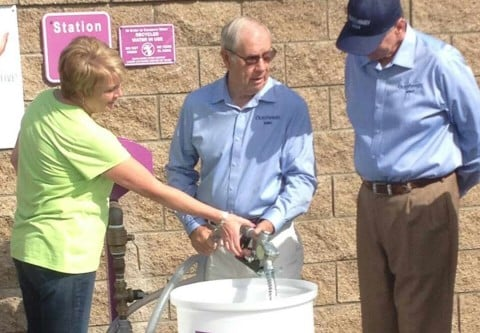 OMWD celebrates recycled water pumping station