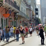 Royal Street in New Orleans' French Quarter dates to the French colonial era and is considered to be the epicenter for local art and high-end shops, galleries, hotels and restaurants. [Photo by Jeff Anding]