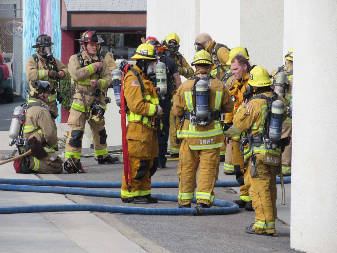 North County fire agencies hold three-day training exercise