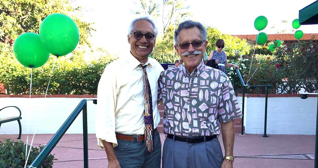 Jose Aponte takes part in RSF Library patio dedication