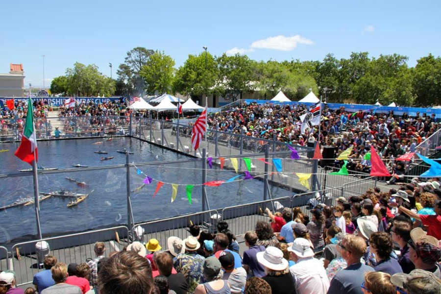 San Marcos man behind Maker Faire's 'Battle Pond'