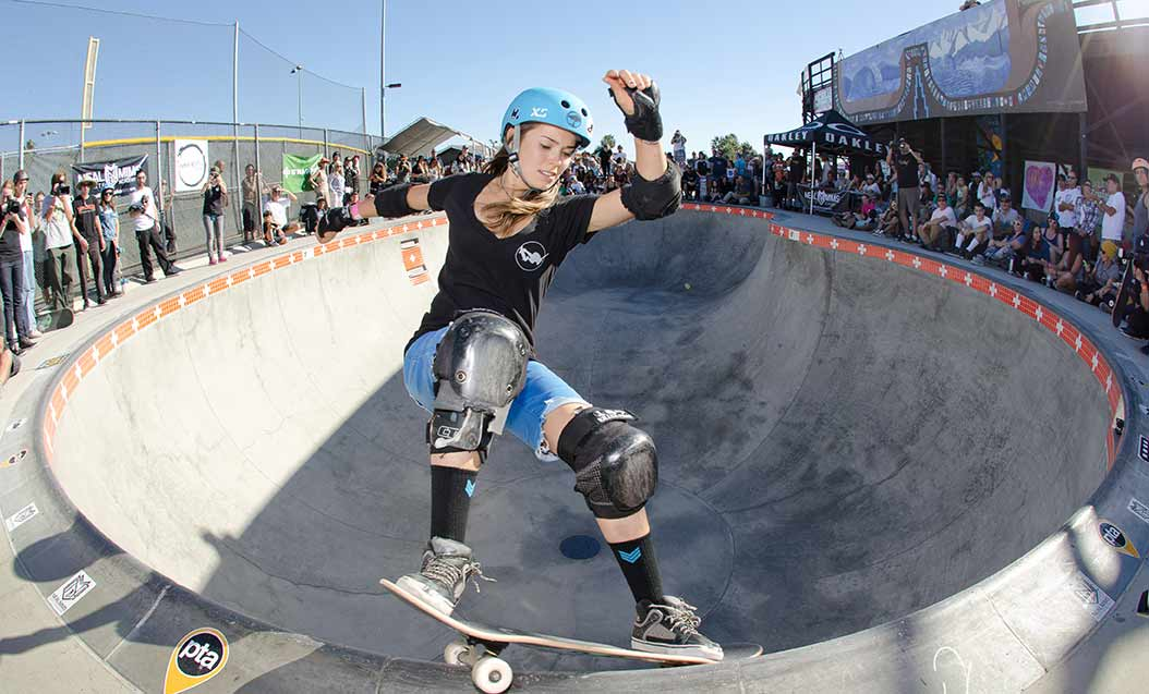 Event gives exposure to female skaters