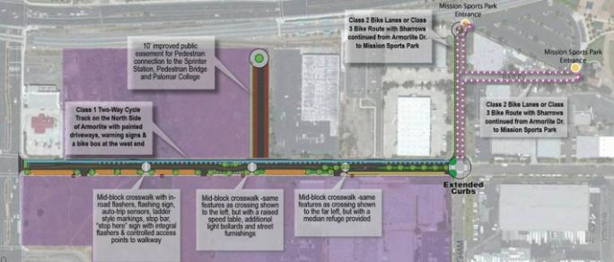 Armorlite Drive to become 'complete street'