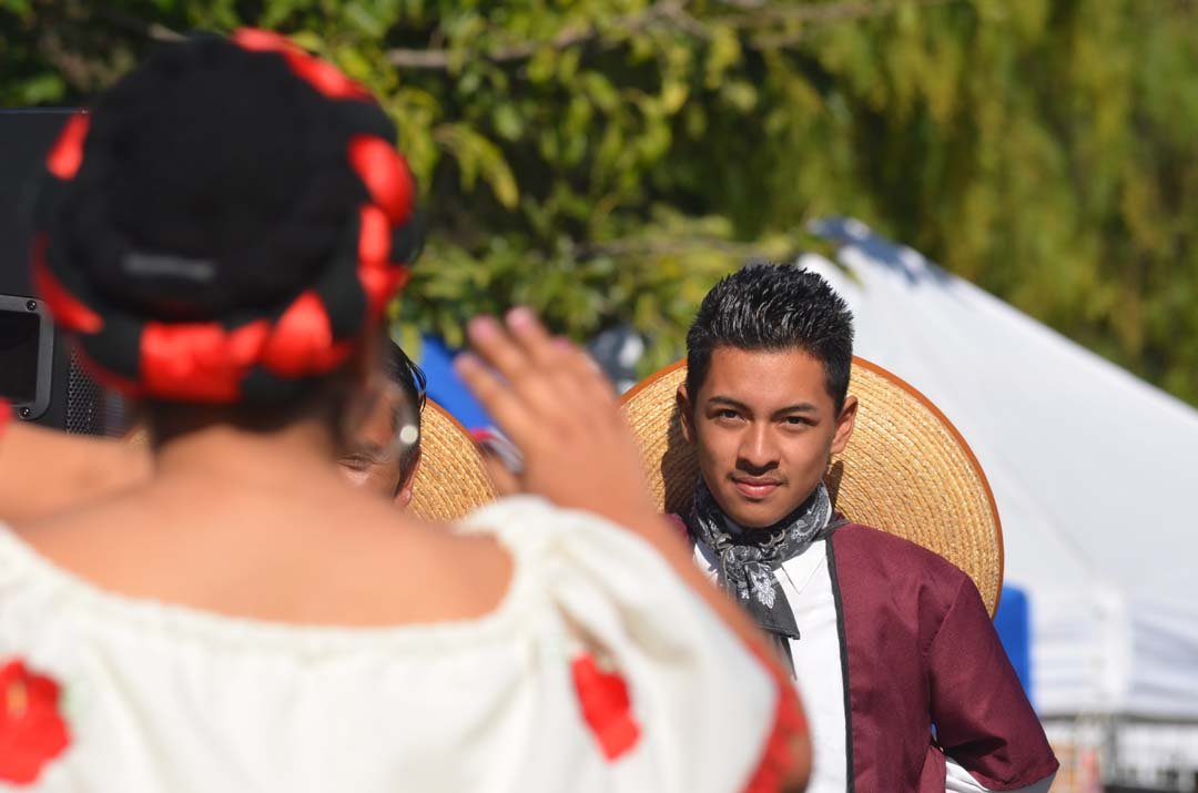Traditional dances and music are part of the Escondido Tamale Festival celebrations. Photo by Tony Cagala
