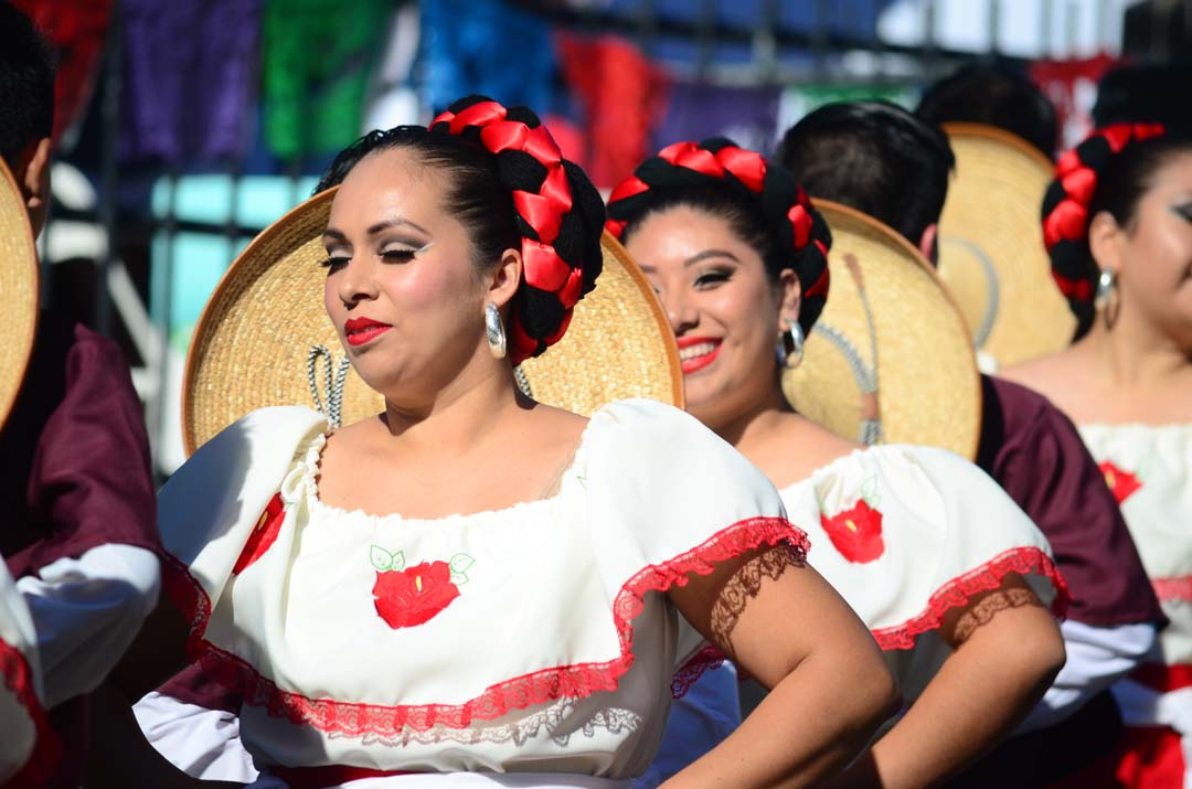 Latin dance performances highlight the festival. Photo by Tony Cagala