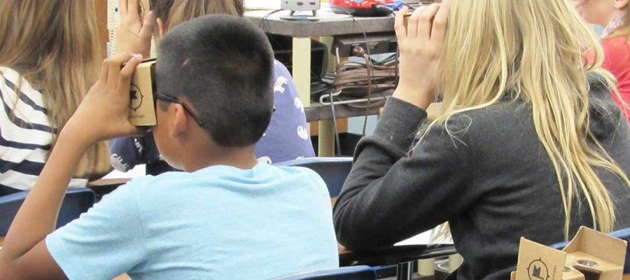 Escondido students take virtual field trips around the world
