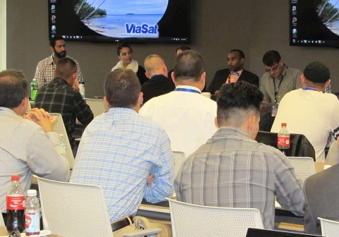 ViaSat holds workshop for military