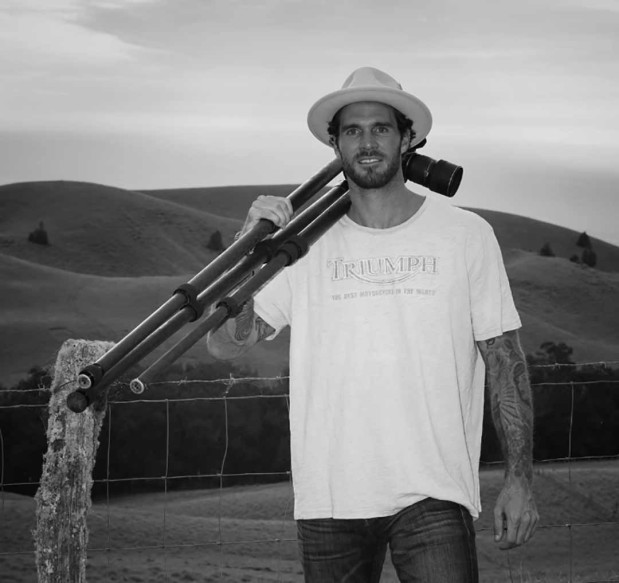 Ty Schmitt turns to landscape photography after a back injury cut his NFL career before it could start. Schmitt's photography will be on exhibit at Bliss 101 in Encinitas. Photo by Courtesy photo
